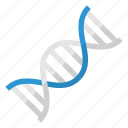dna, gene, genetic, helix icon