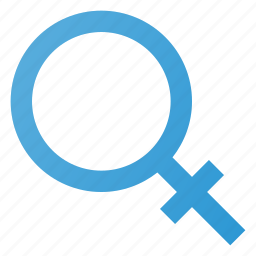 female, sign icon