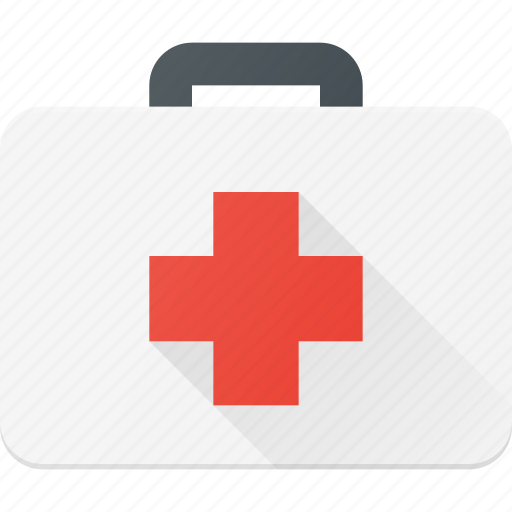 case, equipment, lugadge, medical icon