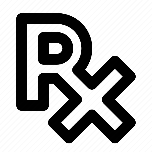 healthcare, medical prescription, prescription symbol, rx, treatment icon