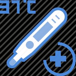 care, clinic, equipment, hospital, medical, temperature, treatment icon