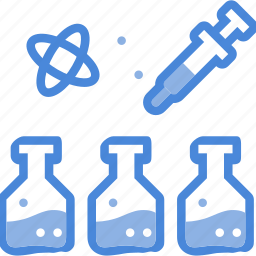 care, clinic, hospital, medical, microscope, science icon
