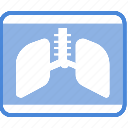 care, clinic, lung, medical, ray, treatment, x icon