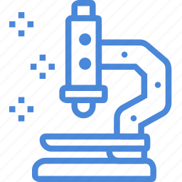 care, clinic, hospital, medical, microscope, science, treatment icon