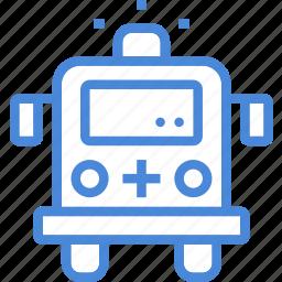 ambulance, car, care, emergency, hospital, medical, treatment icon