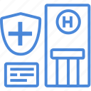 care, center, clinic, healthcare, hospital, medical, treatment icon