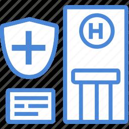 care, center, clinic, healthcare, hospital, medical, treatment icon