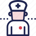 care, clinic, hospital, medical, nurse, service icon