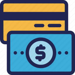 card, cash, credit, finance, money, pay, payment icon