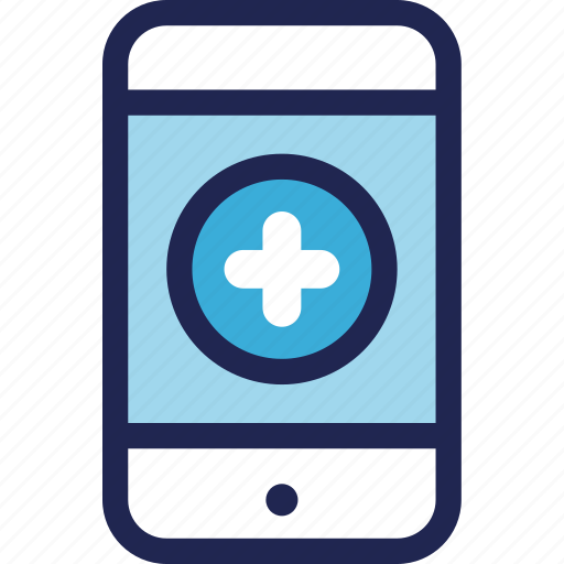 application, care, hospital, medical, mobile, treatment icon