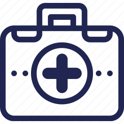 aid, box, care, first, hospital, medical, medicine, pictogram, symbol icon