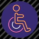 disability, disabled, handicap, wheelchair