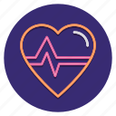 ecg, heart, medical, rate icon