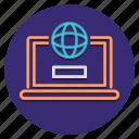 claim, compute, internet, online icon