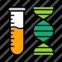 biology, dna, laboratory icon