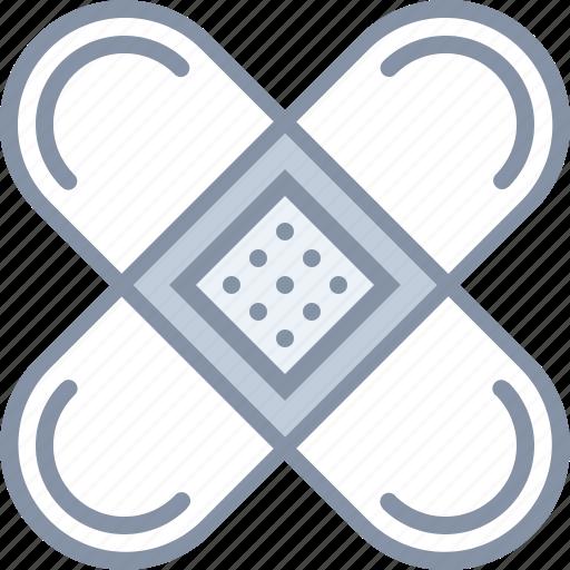 bandage, health, hospital, injury, medical icon