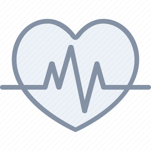 cardio, fitness, health, heart, medical, organ, pulse icon