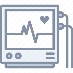 health, heart, hospital, medical, monitor, pulse icon