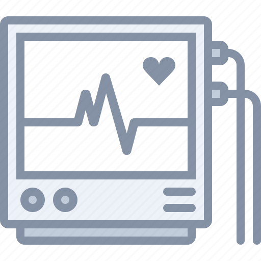 Health, heart, hospital, medical, monitor, pulse icon - Download on Iconfinder