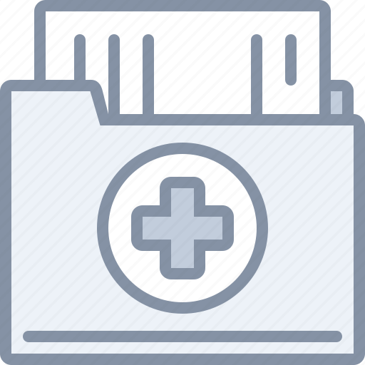 document, file, health, hospital, medical icon