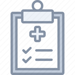 document, health, hospital, medical, results icon