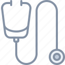 doctor, health, hospital, medical, stetoscope icon