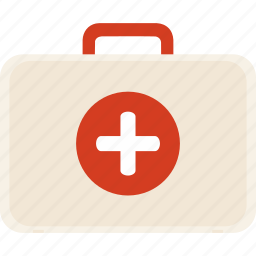 doctor, emergency, first aid kit, hospital, pain killer icon
