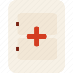accident, emergency, first aid kit, hospital, medical, medicines icon