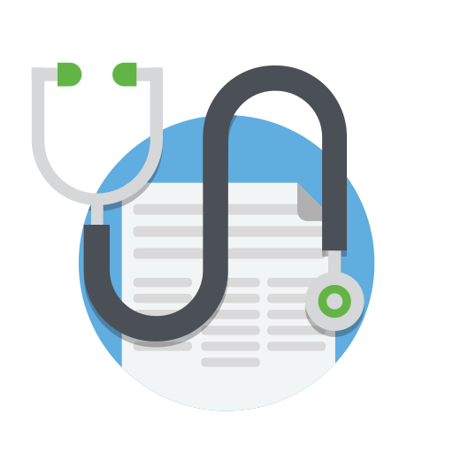 doctor, drug, healthcare, medical, medicine, notes, stethoscope icon
