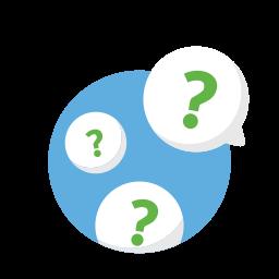 bubbles, healthcare, medical, medicine, questions icon