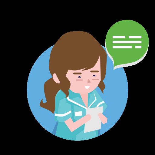 doctor, drug, healthcare, medical, medicine, message, reading icon
