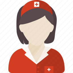 avatar, doctor, health, medical, occupation, surgeon, woman icon