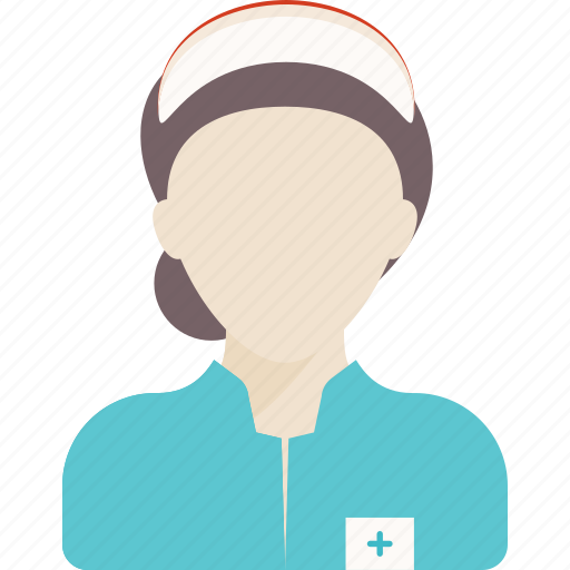 assistant, avatar, job, medical, nurse, people, woman icon