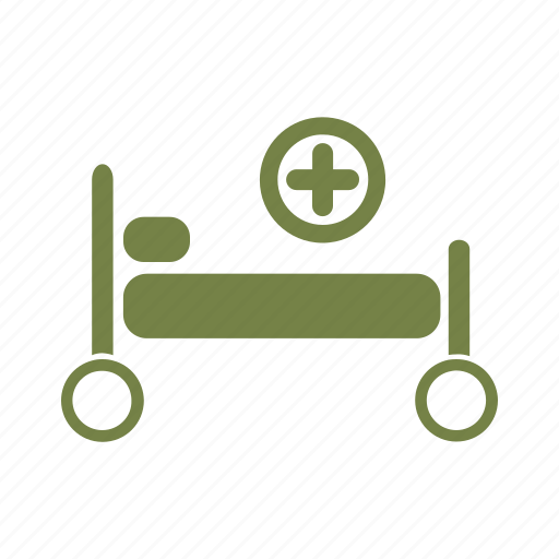 bed, clinic, health, healthcare, hospital, medical, palliative icon