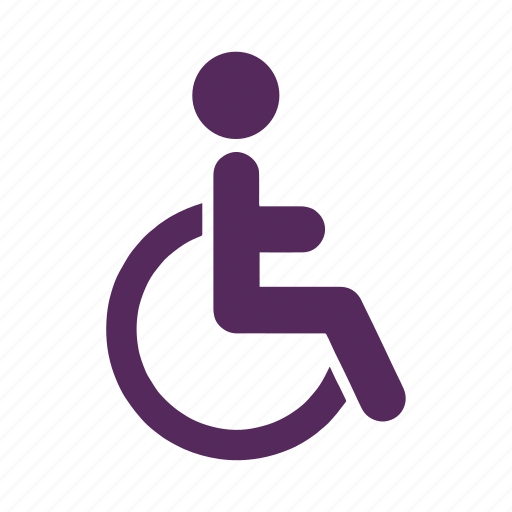 accessibility, disability, disabled, handicap, mobility, movement, wheelchair icon