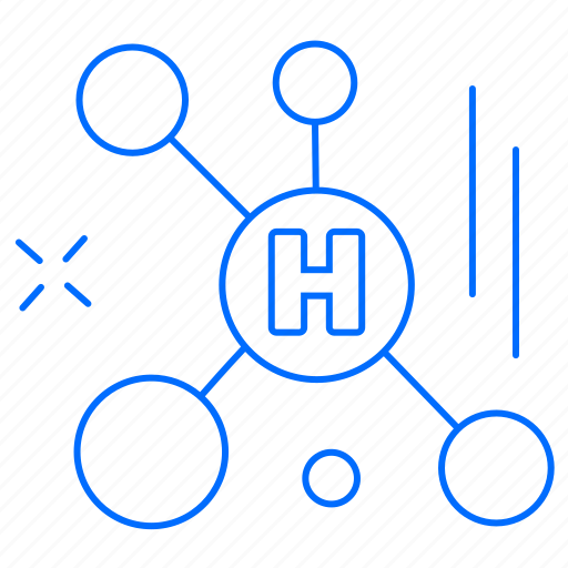 atoms, health, medical icon