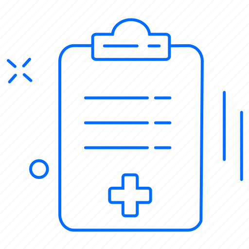 clipboard, health, medical, report icon