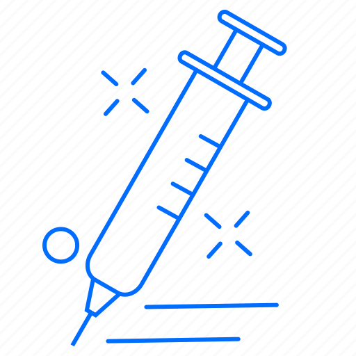 health, medical, syringe icon