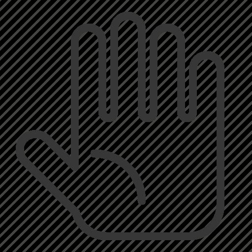 anatomy, hand, healthcare, hospital, medical, organ icon