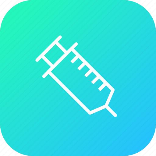 drug, injection, injector, medical, syringe, treatment, vaccine icon
