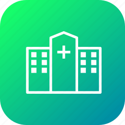 building, clinic, emergency, heathcare, hospital, medical icon