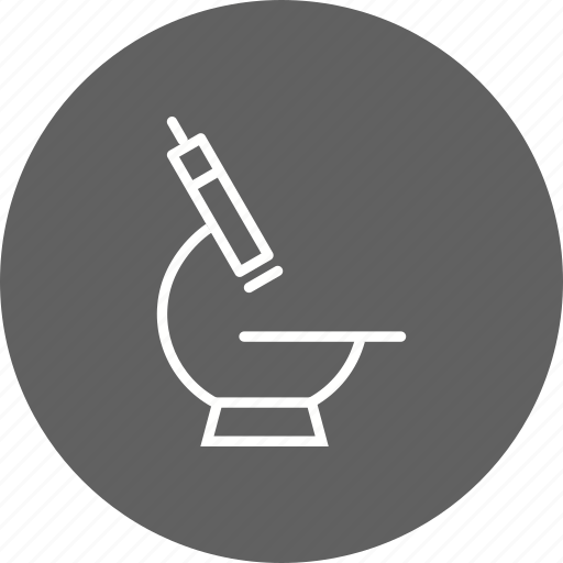 laboratory, microscope, research icon