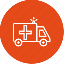 ambulance, emergency, medical icon