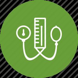 blood pressure, blood pressure machine, bp apparatus, healthcare icon