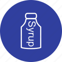 pills, syrup, syrup bottle icon