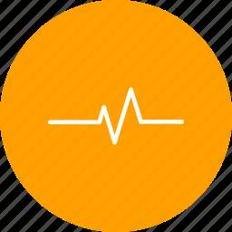 ecg, heart beat, pulse, pulse rate icon
