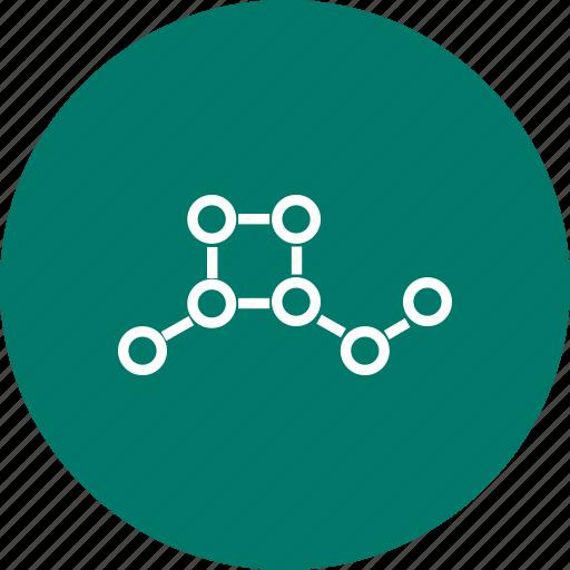 atoms, molecular, structure icon