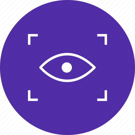 Scan, eye scan, iris scan icon - Download on Iconfinder