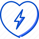 defibrillator, health, human, medic, medical icon