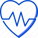 health, heart, human, medic, medical, rate icon